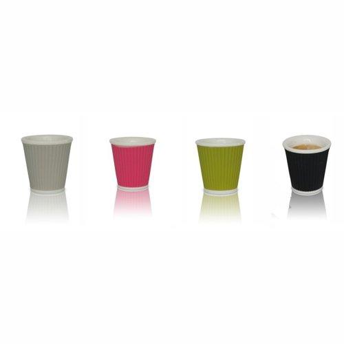 espresso tassen aus porzellan und silikon. Black Bedroom Furniture Sets. Home Design Ideas